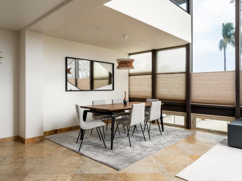 Dining area design plus carpet