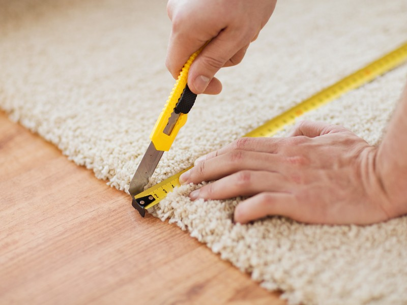 Measuring carpet for the home