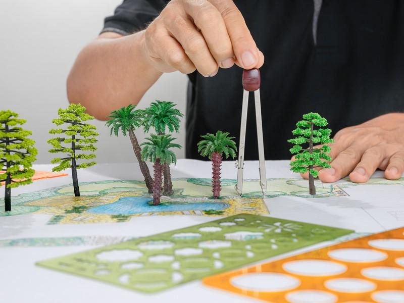 City landscape planning